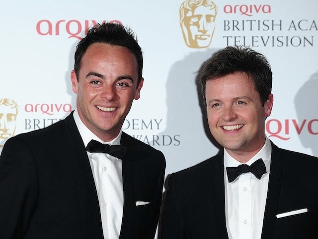 Ant & Dec at an awards ceremony on May 12, 2013