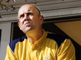 Australia's Darren Lehmann photographed on May 1, 2004
