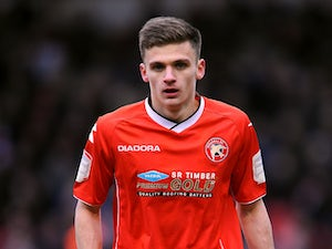 Walsall's Jamie Paterson in action during the match with Coventry City on April 1, 2013