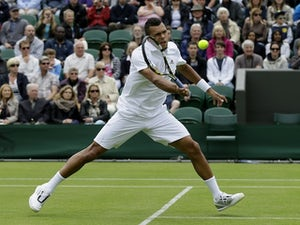 Result: Tsonga into Wimbledon second round