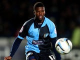 Wycombe Wanderers' Joel Grant during the match against Plymouth on October 2, 2012