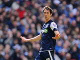 Southend United's Luke Prosser in action on April 7, 2013