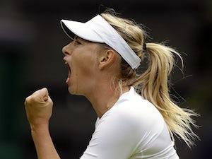 Result: Sharapova overcomes Mladenovic challenge