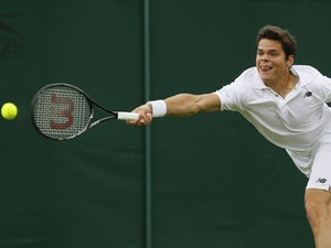Result: Raonic into second round