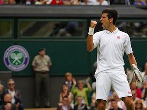 Result: Djokovic cruises into round four
