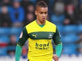 Plymouth Argyle's Paris Cowan-Hall in action on March 9, 2013
