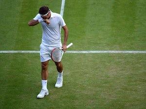 Result: Federer triumphs on tennis return