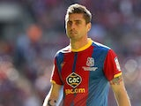 Crystal Palace's Andre Moritz in action on May 27, 2013