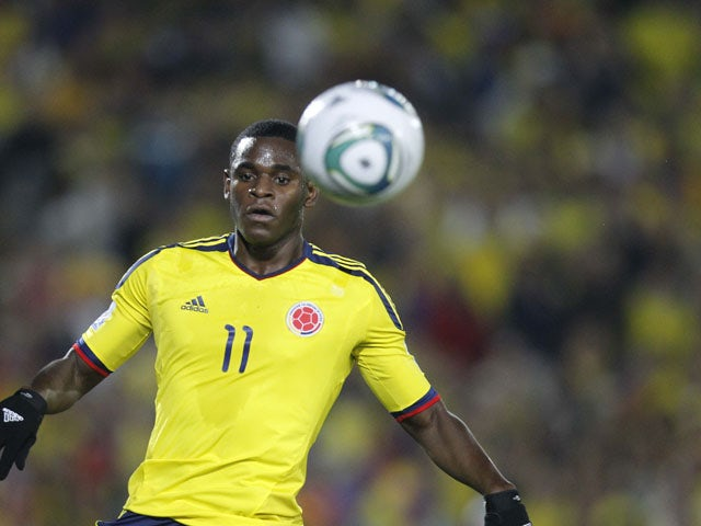 Report: West Ham agree deal for Colombian striker