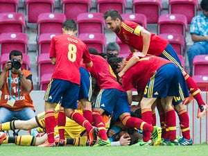 Result: Spain snatch late win over Mexico