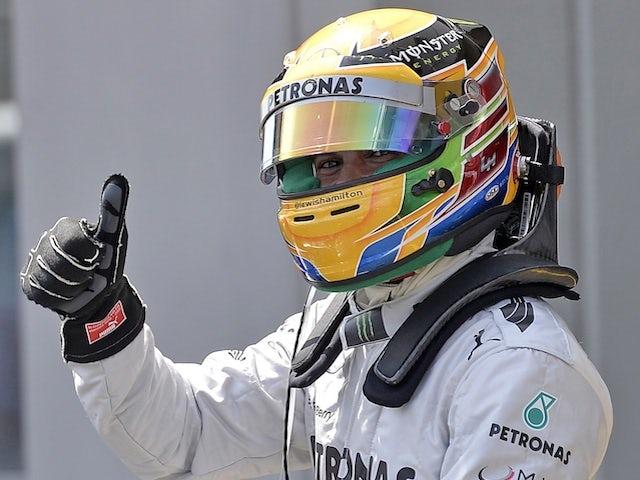 Result: Hamilton claims German GP pole