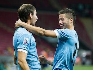 Result: Lopez brace secures Uruguay quarter-final place