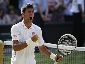 Result: Djokovic battles past Del Potro