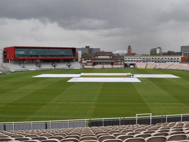A general view of Old Trafford.