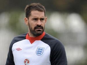 Scott Carson during England training on November 14, 2011
