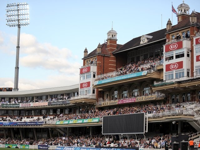 A general view of The Oval.
