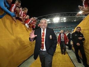 Jones backs Gatland for 2017 Lions success