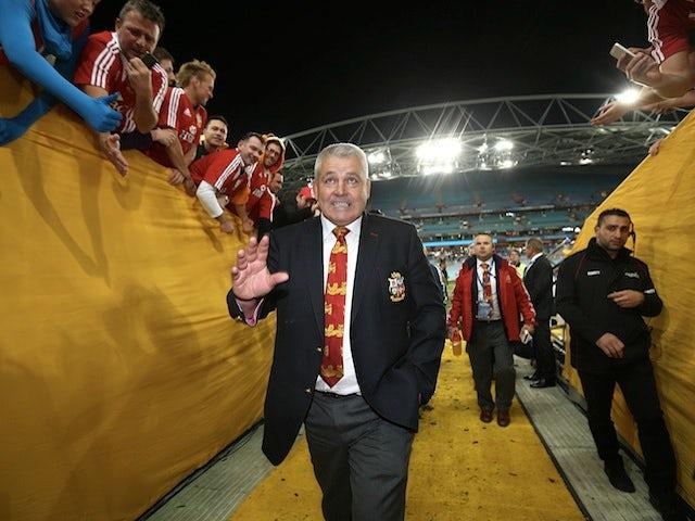 Gatland backs Lions to beat New Zealand