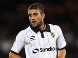 Port Vale's Ben Williamson in action on October 15, 2012