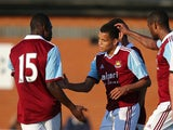 West Ham United's Ravel Morrison celebrates scoring against Boreham Wood during a pre-season friendly on July 10, 2013