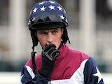 Jockey Brian Toomey on March 2, 2012