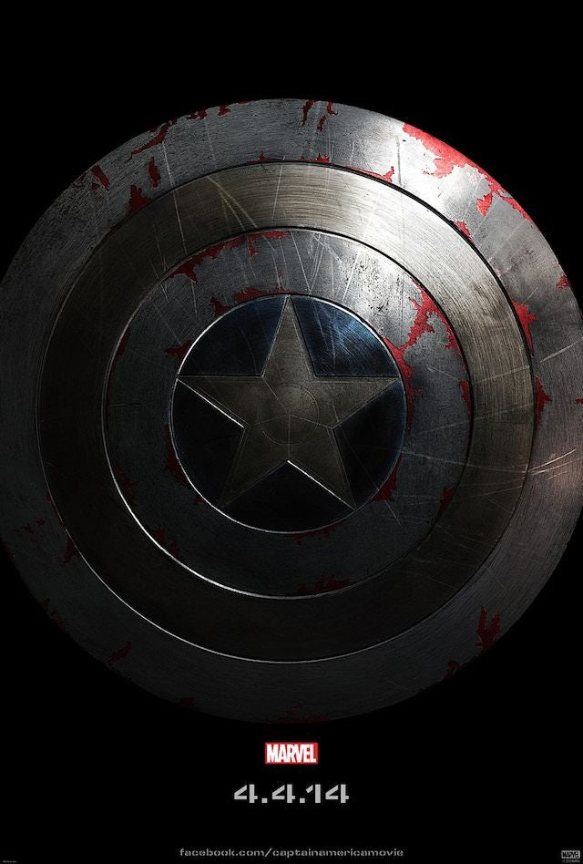 New teaser poster for Captain America: Winter Soldier (640w)