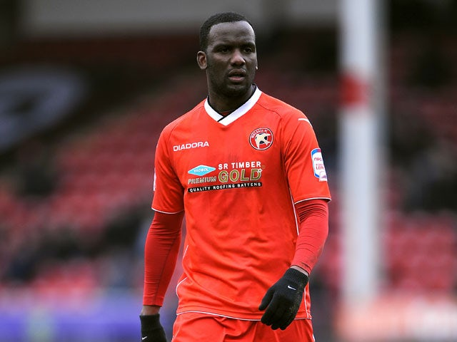 Walsall's Craig Westcarr during the League One match against Coventry City on April 1, 2013