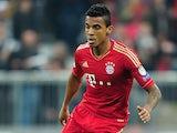 Bayern Munich's Luiz Gustavo in action on April 23, 2013