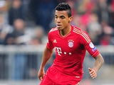 Bayern Munich's Luiz Gustavo in action on April 23, 2013