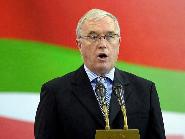 UCI president Pat McQuaid on February 20, 2013