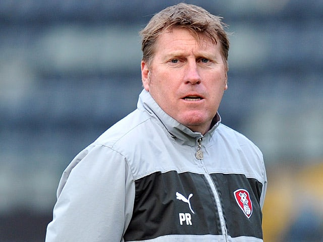 Rotherham United assistant manager Paul Raynor on January 1, 2013