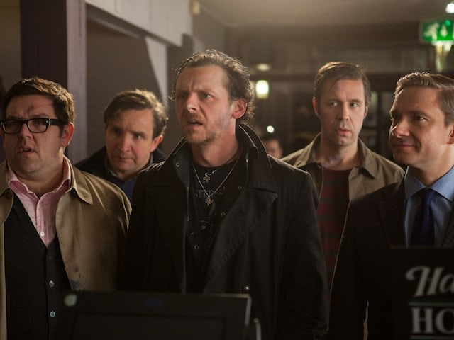 Live: Simon Pegg's 'The World's End' at Comic-Con