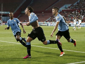 Uruguay through to U20 final on pens