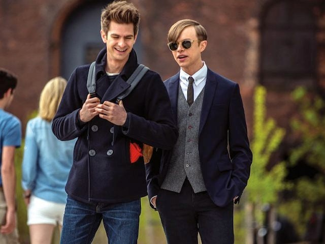 Andrew Garfield and Dane DeHaan in Amazing Spider-Man 2