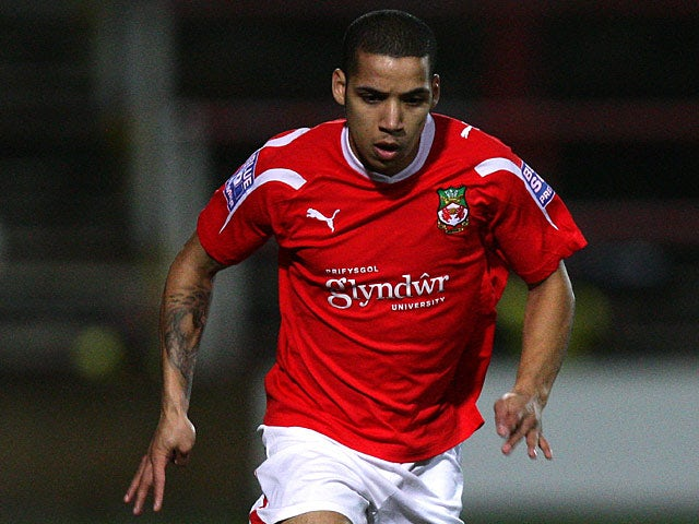 Wrexham's Curtis Obeng in action on January 18, 2012