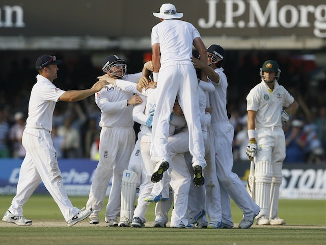 Result: England win second Ashes Test