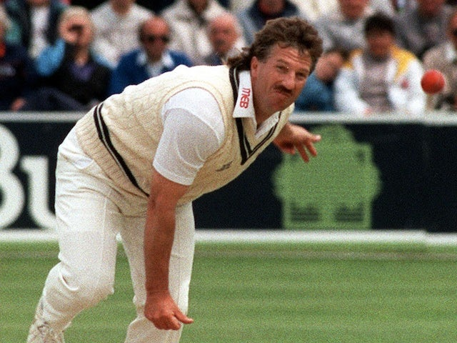 Ian Botham in action on June 12, 1991