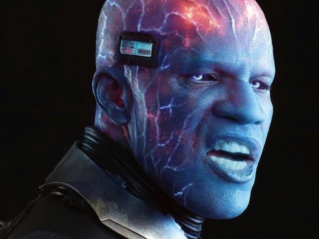 Jamie Foxx as Electro in Amazing Spider-Man 2