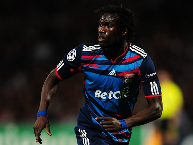 Olympique Lyonnais' Pape Diakhate in action on September 14, 2010
