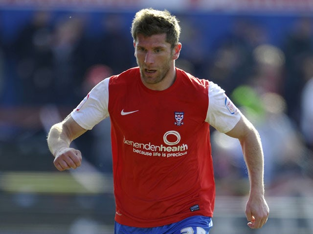 Richard Cresswell playing for York City during their League Two game against Accrington Stanley on April 6, 2013