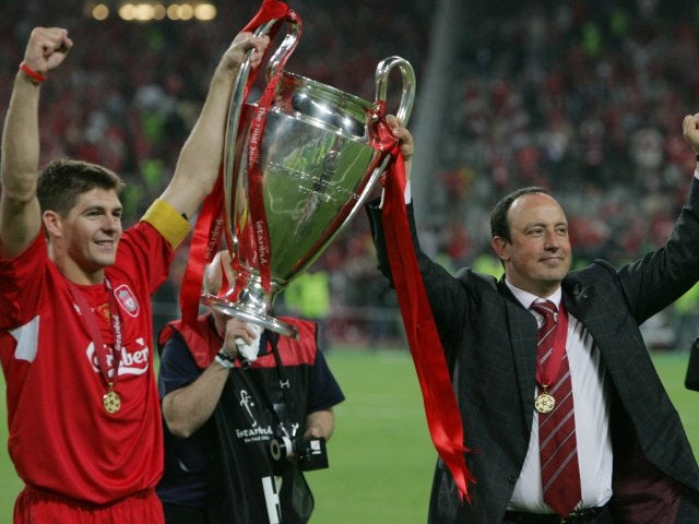 He then spearheaded a dramatic fightback as Liverpool won the 2005 Champions League at the expense of AC Milan. The Reds were 3-0 down at half-time, but eventually came out on top on penalties.