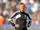 West Brom's joint-assistant head coach Kevin Keen on September 15, 2012