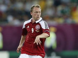 Denmark's Michael Krohn-Dehli during the Euro 2012 match against Germany on June 17, 2012