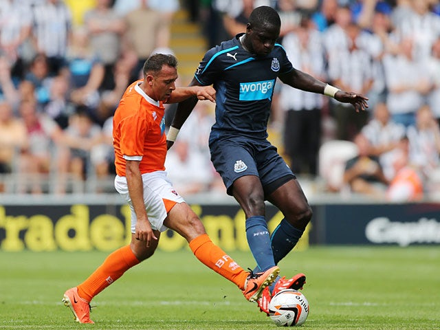 Result: Ameobi secures Newcastle win