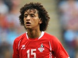 UAE's Omar Abdulrahman in action at London 2012 on August 1, 2012