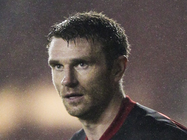 Stephen McManus - then of Bristol City - in action on October 23, 2013
