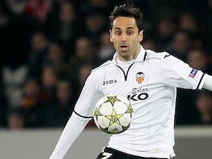 Valencia's Andres Guardado in action on December 5, 2012