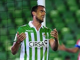 Real Betis' Antonio Amaya in action on January 24, 2013