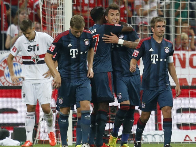 Result: Bayern into Audi Cup final