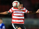 Doncaster Rovers striker Billy Paynter on October 9, 2012